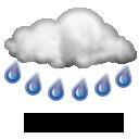 Molto Nuvoloso Pioggia